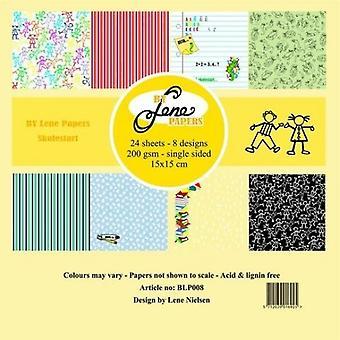 Door Lene Skolestart 6x6 Inch Paper Pack