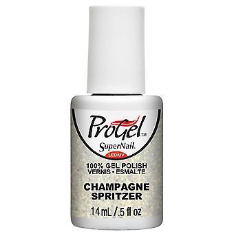 SuperNail ProGel Gel Vernis à ongles - Champagne Spritzer 14ml