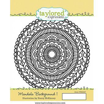 Taylored Expressions Mandala Background 1