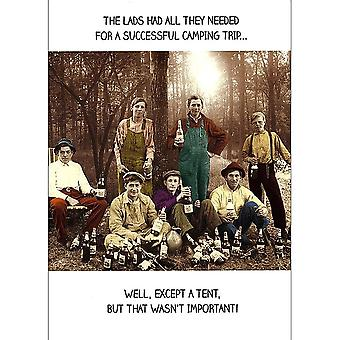 Pigment Lads Camping Trip - General Card