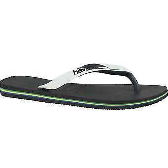 Havaianas Brasil Mix 41232060133 sapatos masculinos de verão universais