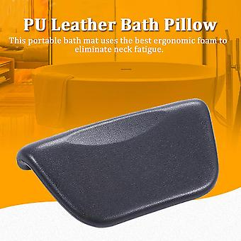 Neck Support Comfortable Bath Pillow Head Rest Cushion With Suction Cup