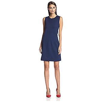 SOCIETY NEW YORK Women's Angled Seam Dress, Midnight, S