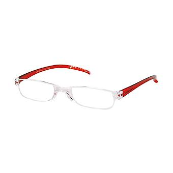 قراءة نظارات Unisex Facile الأحمر قوة +2.00 (le-0129E)