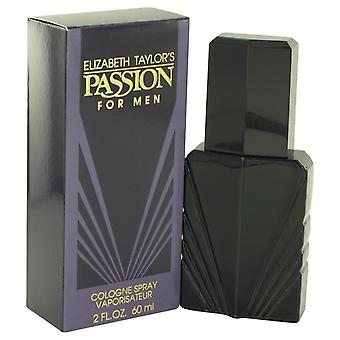 Passion Cologne Spray By Elizabeth Taylor 2 oz Cologne Spray