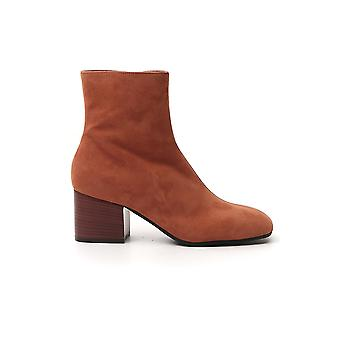 Marni Tcms005206p358000m30 Women's Brown Suede Ankle Boots