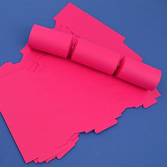 12 Hot Pink Make & Fill Your Own DIY Recyclable Christmas Cracker Boards