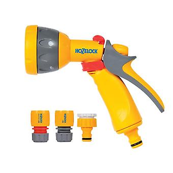 Hozelock 2347 Multi-Pattern Spray Gun Starter Set with Fittings HOZ2347