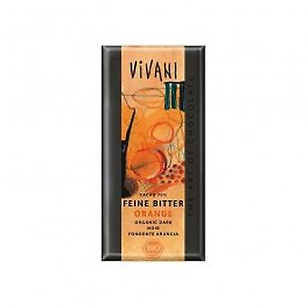 فيفاني-العضوية 100gx10 الشوكولاته برتقالي داكن
