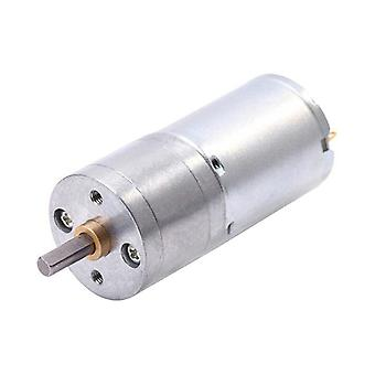 Jga25-370 Geared Motor Dc Motor 6v 12v Electric High Torque 5/10/15/30/60/100/150/200/300/400/500/1000/1200 Rpm