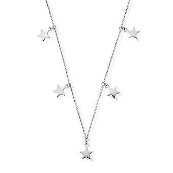 ChloBo Multi Star Necklace Silver SN5STARS