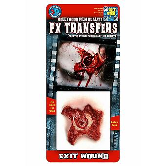 Tinsley Transferts 3D Fx Transferts Petits (Exit Wound)