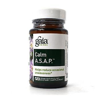 Gaia Herbs Calm A.S.A.P., 30 korkkia