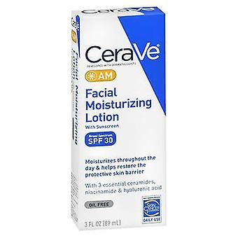 Cerave CeraVe Facial Moisturizing Lotion AM SPF 30, 3 Oz