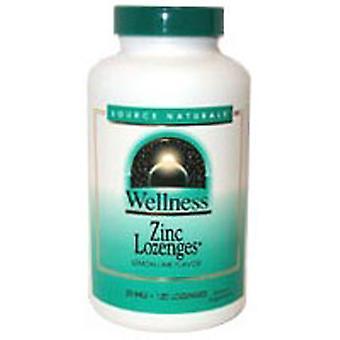Quelle Naturals Wellness Zink Lozenges, 120 Tabs