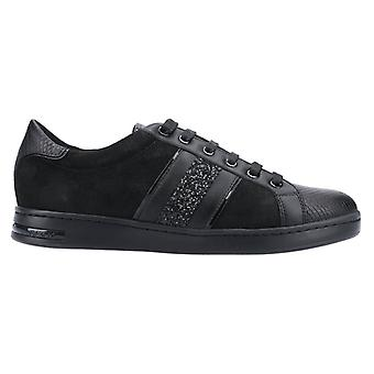 Geox Womens/Ladies Jaysen Leather Trainers