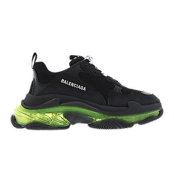 Balenciaga Triple s clear sole yellow flu Black 541624w09on1047 shoe