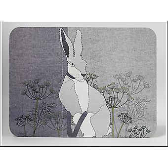 Home Living Placemats x 6 Patched Hare