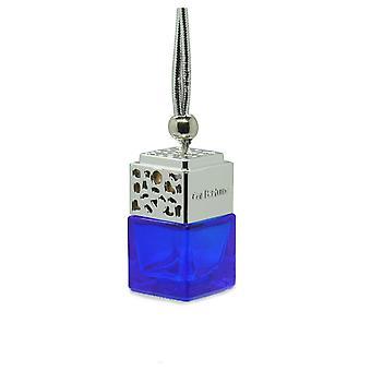 Designer i bil luft freshner diffuser olie fragranceinspiBlue af (Gucci Skyldig for hende) Parfume. Krom låg, blå flaske 8ml