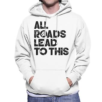 Fast and Furious All Roads Lead To This Men's Hooded Sweatshirt