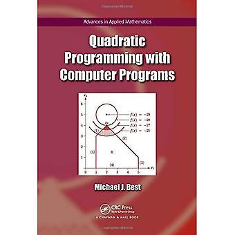 Kwadratische programmering met computerprogramma's