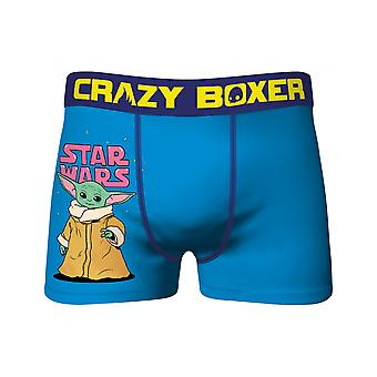 Star Wars The Child Blue Crazy Boxer Briefs