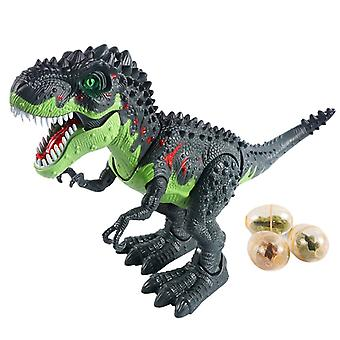 Rc Dinosaur Remote Control Sounds Dinobot Electric Walking Animals Toy, Laying