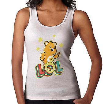 Pflege Bären entsperren die Magie Funshine Bär Lol Frauen's Weste
