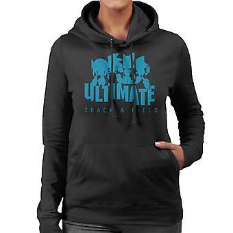 Sonic der Igel ultimative Track und Feld Frauen's Kapuzen Sweatshirt