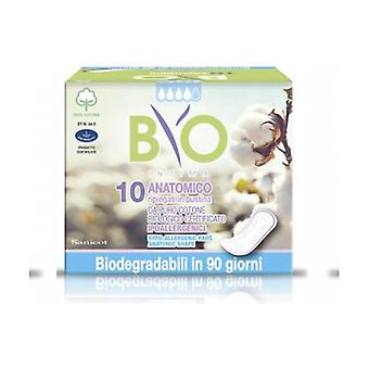 Anatomical Absorbents Cotton - Bio Compostable Cover 10 units