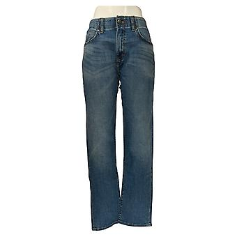 Lee Men's Jeans afilado 34x32 Slim Fit W/ Stretch Blue