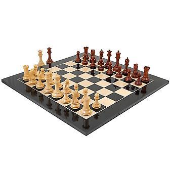 Eminence noir et palissandre grand jeu d'échecs