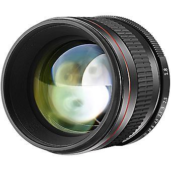 Multi-Coated 85mm f/1.8 Portrait Aspherical Telephoto Lens for Canon EOS 80D 70D