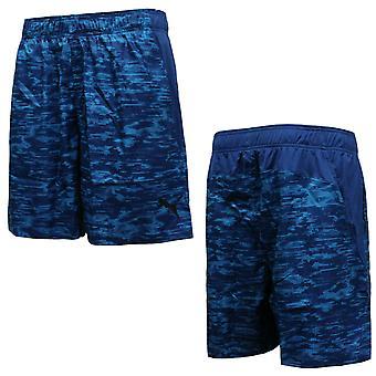 Puma Active Training Mens Reps Țesute Pantaloni scurți grafici Albastru 514585 08 A11C