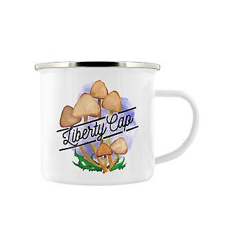 Deadly Detox Liberty Cap Enamelled Mug