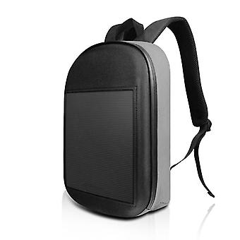 Smart Display Screen Waterproof Outdoor Biking Walking Advertising Backpack