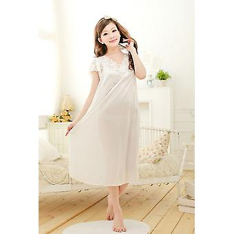 Women Lace Sexy Nightdress Plus Size Large Size Sleepwear Nightgown Nightdress