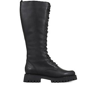 Tamaris Femmes Chunky Knee High Boots