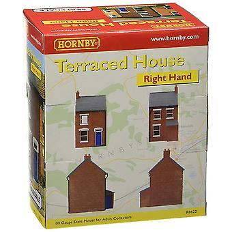 Hornby högra mitten radhus modell