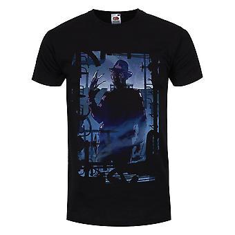 Grindstore Herren Freddy Krueger Silhouette T-Shirt