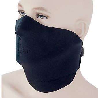 Bike It Black Neoprene Face Mask