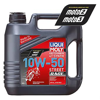 Liqui Moly 4 Stroke Fully Synthetic Street Race 10W-50 4L - #1686