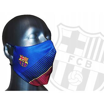 برشلونة قناع الوجه جونيور الأحمر / الأزرق- 7 إلى 14 سنة