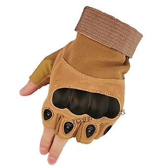 Tvrdé klouby, rukavice s polovičním prstem