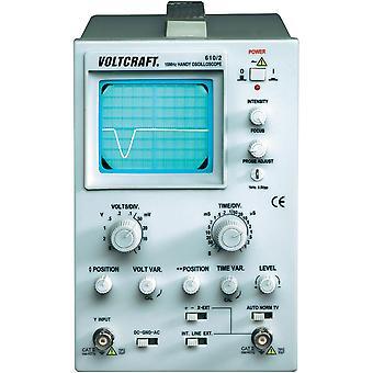 Voltcraft 610-2 1 Channel Oscilloscope 10MHz