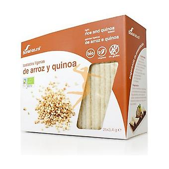 Wholemeal Rice and Quinoa Toasts 85 g