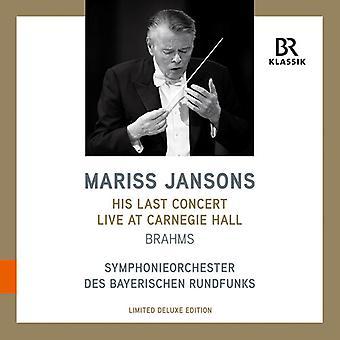 Brahms / Jansons - His Last Concert At Carnegie [Vinyl] USA import