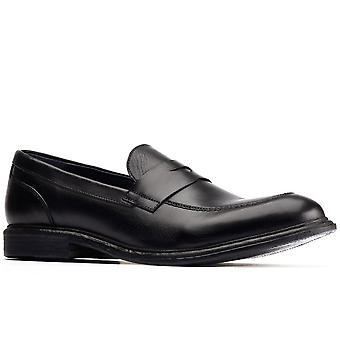 Basis Londen Scoria Mens Penny Loafers