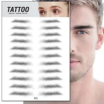 4d Hair-like Makeup Waterproof Lasting Eyebrow Tattoo Sticker