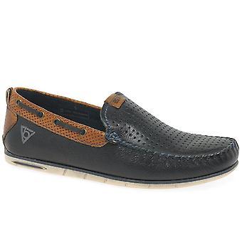 Bugatti Benjy II Mens Slip On Boat Shoes